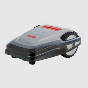 Roboter-Mäher <br>Robolinho 100 von AL-KO  <br>Arbeitsfläche: max. 700m2  <br>Schnittbreite: 28cm  <br>Mähzeit/Ladezeit: 70/70min <br>Schnitthöhe: 30-60mm, manuell <br>Lautstärke: max. 65dB