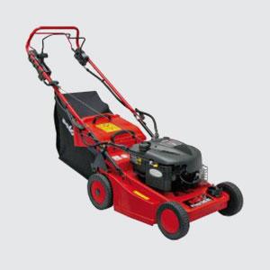 Rasenmäher <br>z.B. Solo 546 R  <br>5.5 PS Basco Motor  <br>Schnittbreite 46 cm  <br>Grasfangsack 50 lt.  <br>Radantrieb  <br>Kunststoff-Gehäuse