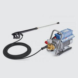 Hochdruckreiniger<br>Kränzle HD 10/122 TS  <br>-Arbeitsdruck: 30-115bar stufenlos  <br>-Wasserleistung: 10l/min  <br>-Gewicht: 23kg  <br>-Masse LxBxH in mm: 440x200x330