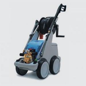 Hochdruckreiniger<br>Kränzle quadro 599 TS T 10A  <br>-Arbeitsdruck: 30-130bar stufenlos  <br>-Wasserleistung: 9l/min  <br>-Gewicht: 62kg  <br>-Masse LxBxHin mm: 780x395x870