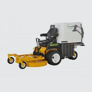 Aufsitzmäher <br>z.B. Walker MDDGHS  <br>- 21 PS Kubota Diesel-Motor  <br>- Hydrostatischer Antrieb  <br>- Null-Wendekreis  <br>- Schnittbreite 107/122/132 cm  <br>- Grasfangbehälter 360 lt.